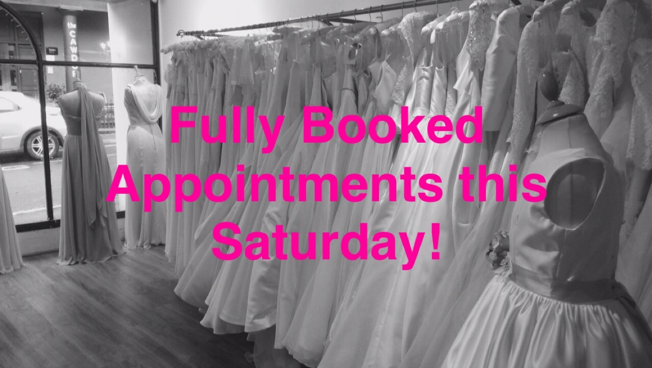 shop fully booked